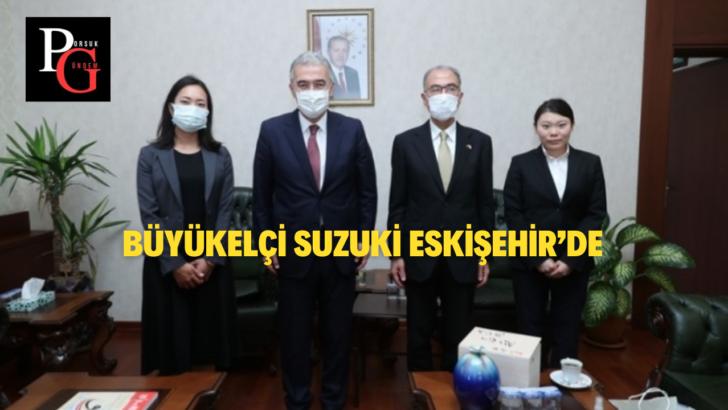Japonya'nın Ankara Büyükelçisi Kazuhiro Suzuki Eskişehir'de