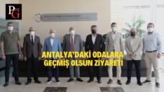 ETO Heyeti Antalya'daki Odaları Ziyaret Etti
