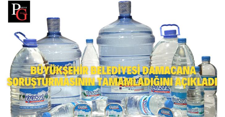 Büyükşehir'den Yeni Kalabak Su Açıklaması