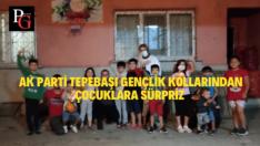AK Parti Tepebaşı Gençlik Kollarından Çocuklara Sürpriz