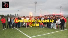 Pazarspor Maçı Hazırlıkları Taraftar Ziyaretiyle Başladı