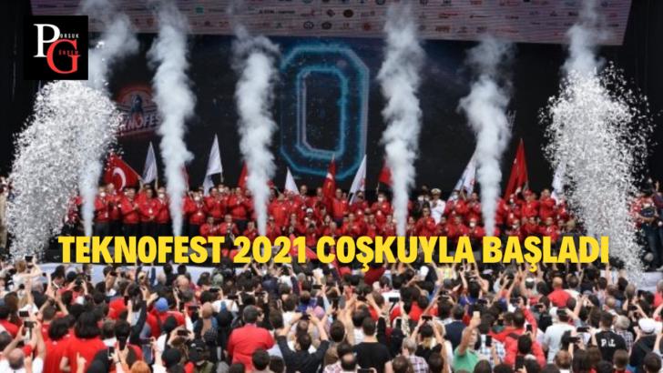 Teknofest 2021 Başladı