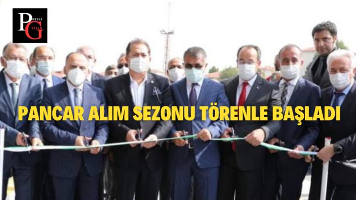 Türkşeker Eskişehir Kazım Taşkent Şeker Fabrikasında Üretim Başladı