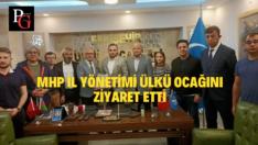 MHP'den Eskişehir Ülkü Ocaklarına Ziyaret