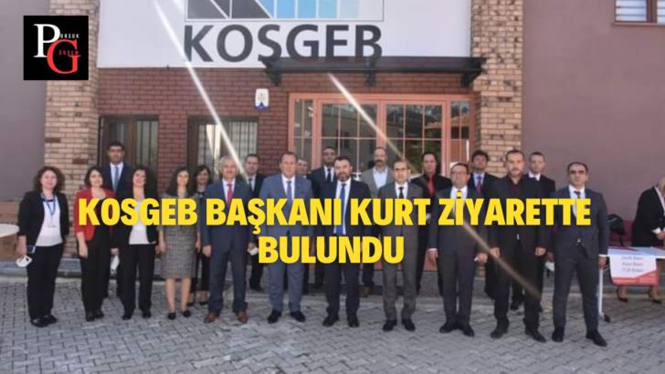KOSGEB Başkanı Hasan Basri Kurt Eskişehir'e Geldi