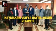 AK Parti Odunpazarı'ndan Kaymakam Ulu'ya Ziyaret