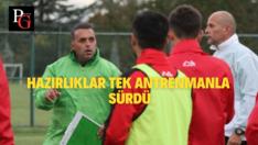 Eskişehirspor Pas Çalıştı