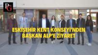 Eskişehir Kent Konseyi'nden Beylikova'ya Ziyaret