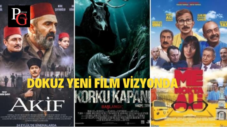 Dokuz Yeni Film Vizyonda…