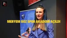 Meryem Boz Spor Akademi Eskişehir'de