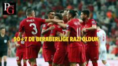 Milliler Karadağ'a takıldı: 2-2