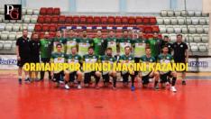 Ormanspor turnuvada ikinci maçında galip