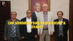 CHP Sivrihisar İlçe Yönetimi Başkan Kurt'u ziyaret etti