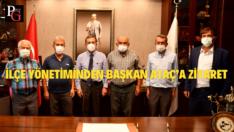 CHP Sarıcakaya'dan Başkan Ataç'a Ziyaret