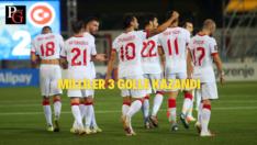 Milliler Cebelitarık'ı üç golle geçti