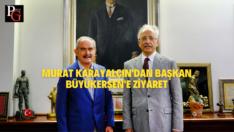 Murat Karayalçın'dan Başkan Büyükerşen'e ziyaret