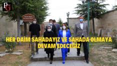 Prof.Dr.Günay Seyitgazi'yi Ziyaret Etti