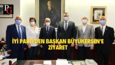 İYİ Parti'den Başkan Büyükerşen'e Ziyaret