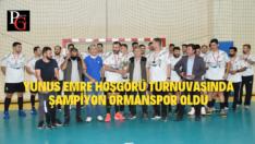 Ormanspor Turnuvanın Şampiyonu Oldu