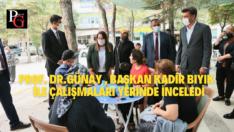 Prof.Dr.Günay Çifteler'de Vatandaşları Dinledi