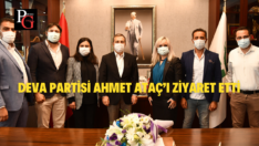 Deva Partisi Tepebaşı'ndan Başkan Ataç'a Ziyaret