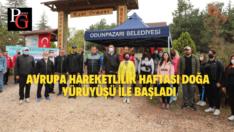 Avrupa Hareketlilik Haftası doğa yürüyüşü ile başladı