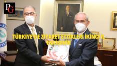 Japonya Büyükelçisi'nden Başkan Büyükerşen'e Ziyaret