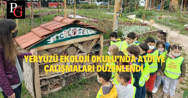 Çocuklar İçin Çevreci Atölye Çalışmaları