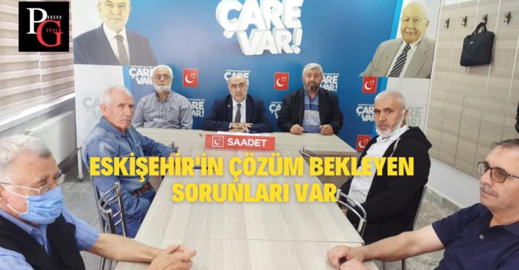 Eskişehir'in Çözüm Bekleyen Sorunları Var