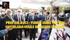 Prof. Dr. Nabi Avcı Yunus Emre Anma Etkinliklerine Katıldı
