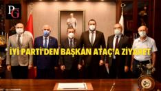 İYİ Parti'den Başkan Ataç'a Ziyaret