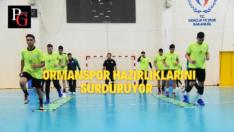 Ormanspor Nilüfer Belediyespor Maçı Hazırlıklarını Sürdürüyor
