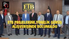 AK Parti Odunpazarı'ndan Ticaret Borsası'na Ziyaret