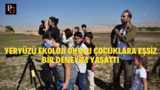 Çocuklar Göç Yolundaki Kuşları Gözledi