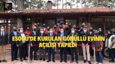 ESOGÜ'de Gönüllü Evi Açıldı