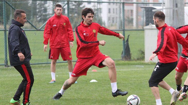 Eskişehirspor'da Antrenmanlar Sürüyor