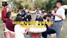 Başkan Bozkurt Gençlerle Biraraya Geldi