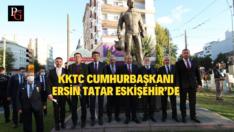 KKTC Cumhurbaşkanı Ersin Tatar Eskişehir'de