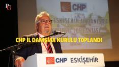 CHP Eskişehir İl Danışma Kurulu Toplantısı Yapıldı