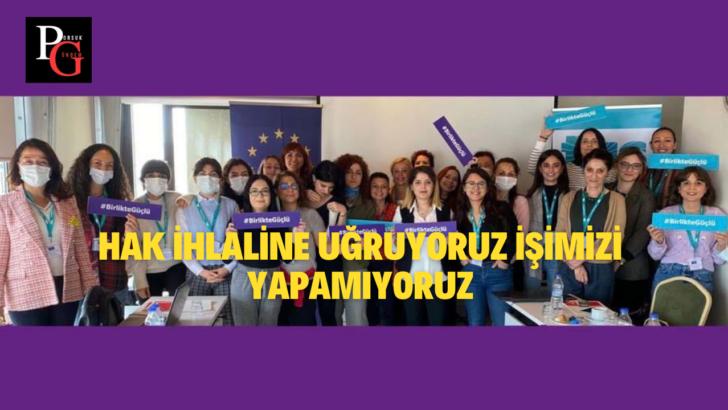 Gazeteci Kadınlar Şiddete Sessiz Kalmıyor!