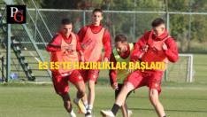 Zonguldak Kömürspor Maçı Hazırlıkları Başladı