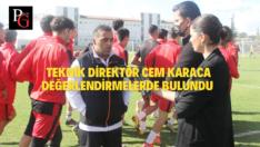Teknik Direktör Cem Karaca: Her Maçta Daha Çok Tecrübe Kazanıyoruz