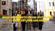 Uluslararası Kadın Dayanışma Derneği'nden Büyükerşen'e Ziyaret