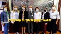 ÇYDD'den Büyükerşen'e Ziyaret