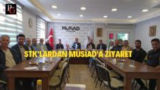 STK'lardan MÜSİAD'a Ziyaret
