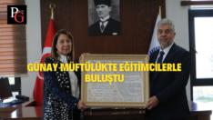 Prof.Dr.Günay'dan Müftülüğe Ziyaret