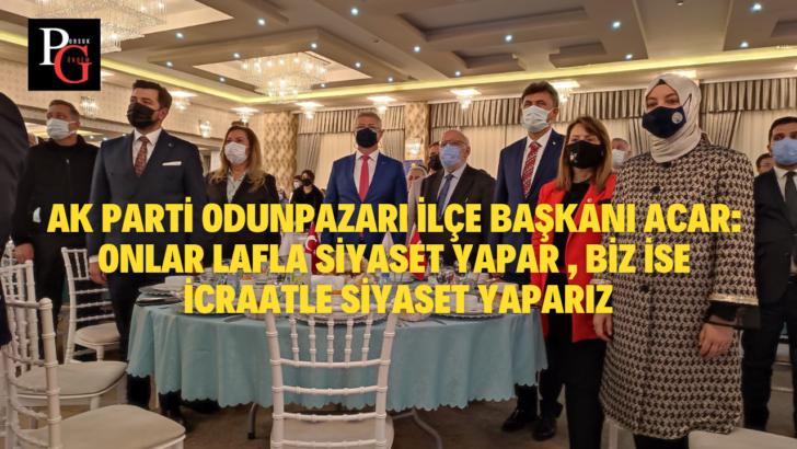 AK Parti Odunpazarı'nda İlçe Danışma Meclisi Toplantısı Gerçekleştirildi