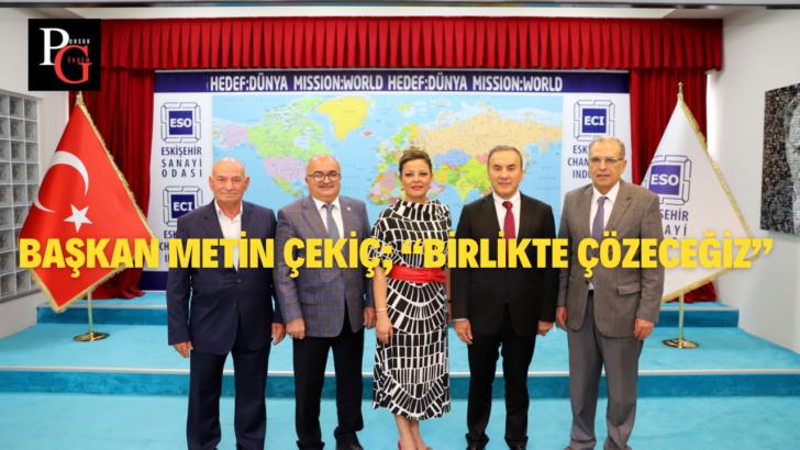 Eskişehir Madencilik Kümesinde Yeni Yönetim Göreve Başladı