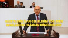 CHP'li Çakırözer:1800 Olan Gazete Sayısı 900'lere Düştü!